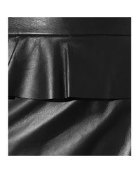 Altuzarra - Black Leather Skirt - Lyst