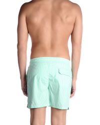 Pedro Del Hierro Madrid - Green Swimming Trunk for Men - Lyst