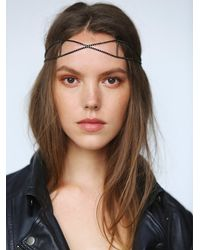 Free People | Black Forever Headpiece | Lyst