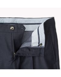 Tommy Hilfiger | Blue Wool Blend Trousers for Men | Lyst