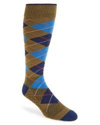 Challengerxusa - Green 'heritage' Argyle Socks for Men - Lyst