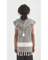 Koza - Gray Sleeveless Baja - Lyst