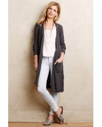Knitted & Knotted | Gray Daybreak Cardigan | Lyst