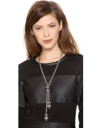 Elizabeth Cole | Metallic Holden Necklace | Lyst