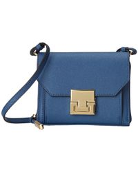 Ivanka Trump | Blue Hopewell Crossbody Wallet | Lyst