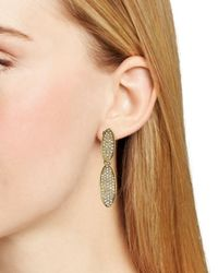 Ralph Lauren - Metallic Lauren Clip On Earrings - Lyst