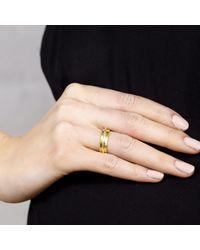 Maya Magal - Metallic Skinny Spinning Ring - Lyst