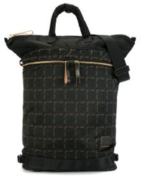 Marni - Black X Porter Checked Tote for Men - Lyst