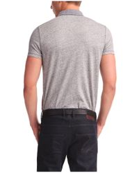 BOSS Orange | Gray Cotton Polo Shirt 'pilippo' for Men | Lyst
