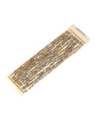 Nakamol - Multicolor Multi-Strand Beaded Bracelet - Lyst