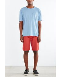 BDG - Blue Box-fit Crew Neck Tee for Men - Lyst