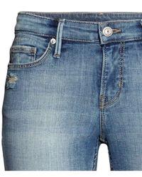 H&M - Blue Bootcut Jeans - Lyst