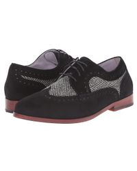Johnston & Murphy | Black Dinah Wingtip | Lyst