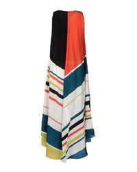 Paul Smith - White Multicoloured Maxi Dress - Lyst