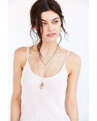 Silence + Noise | Natural Kate Rumpled Cami | Lyst
