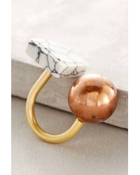 Berry | Brown Maquette Ring | Lyst