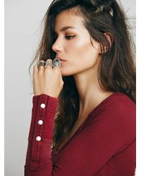 Free People | Red We The Free Sunnie Valley Cuff | Lyst