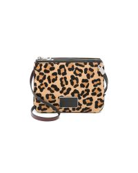 Marc By Marc Jacobs - Black Ligero Leopard Double Percy Bag - Lyst