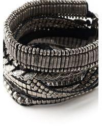 Hipanema - Gray Stacked Bangle Bracelet - Lyst