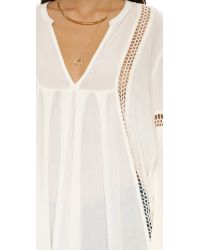 Free People - White Just The Two Of Us Tunic - Lyst