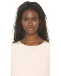 Gorjana | Metallic Bali Lariat Necklace - Gold | Lyst