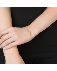 Emily & Ashley | Metallic Double Elephant Bracelet | Lyst