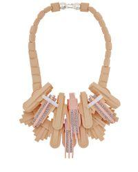 EK Thongprasert - Brown Art De Co' Necklace - Lyst