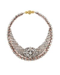 Shourouk | Metallic Mini River Comet Necklace | Lyst