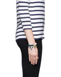 Joomi Lim | Blue Crystal Bead Double Strand Bracelet | Lyst