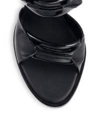 Alexander Wang - Black Kai Leather Sandals - Lyst