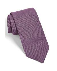 Todd Snyder - Purple Solid Silk Tie for Men - Lyst