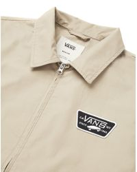 Vans | Natural Station Lightweight Twill Jacket for Men | Lyst