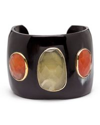 Ashley Pittman | Multicolor Dark Horn Cuff Bracelet | Lyst
