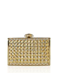 Judith Leiber Couture - Metallic Tall Slender Rectangle Clutch Bag - Lyst