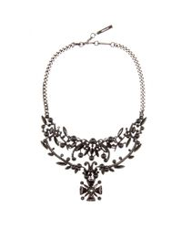 Givenchy | Metallic Embellished Necklace | Lyst