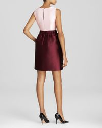 kate spade new york - Pink Swift Color Block Dress - Lyst