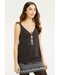 Oasis - Metallic Disc And Tassel Long Necklace - Lyst