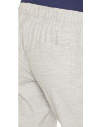 Vince - Gray Patch Pocket Jogger Pants - Heather Grey - Lyst