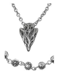 Pamela Love - Metallic Archer Necklace - Lyst
