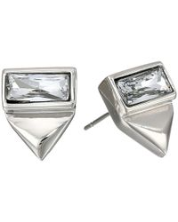 Vince Camuto | Metallic Stud Earring | Lyst