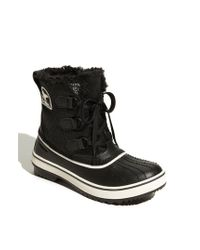 Sorel - Black 'tivoli' Waterproof Boot - Lyst
