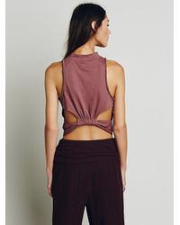 Free People - Brown We The Free Womens We The Free Queen Tank - Lyst
