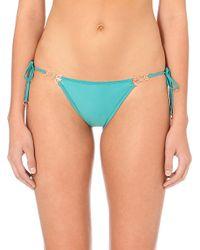Myla - Blue Tie-side Bikini Bottoms - Lyst
