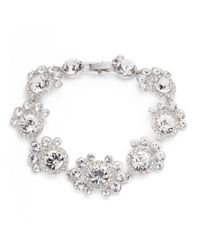 Givenchy | Metallic Crystal Cluster Bracelet | Lyst