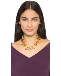 Lizzie Fortunato - Metallic Arena Necklace - Gold - Lyst