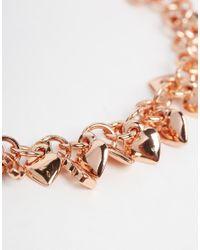 Ted Baker - Metallic Tiny Heart Cluster Bracelet - Lyst