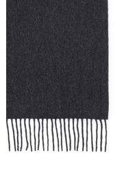 J.Crew | Gray Cashmere Scarf for Men | Lyst