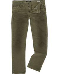 Replay - Green Waitom Regular Slim Fit Jean for Men - Lyst