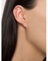 Loren Stewart | Metallic Double Pearl Ear Cuff | Lyst