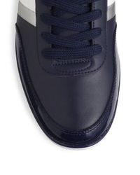 Lacoste | Blue Giron Doublestripe Sneakers for Men | Lyst